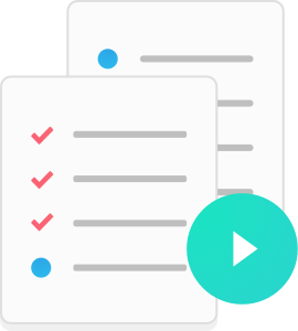 Run multiple instances of the template as checklists