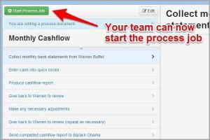 Start Process Job