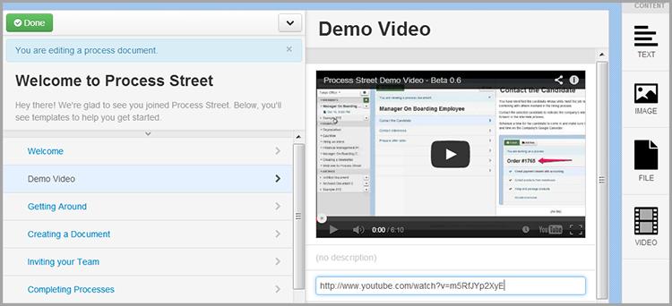 Process Street Video Example