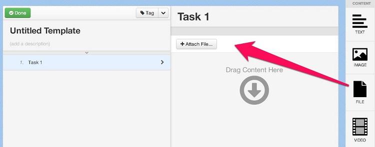 Add File Widget