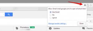Configure Gmail as Default Mail Client