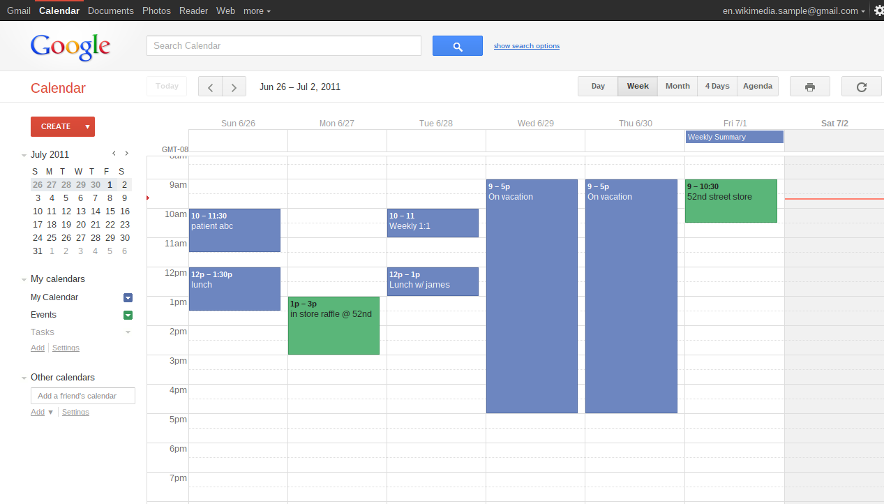 Google_Calendar_screenshot 1