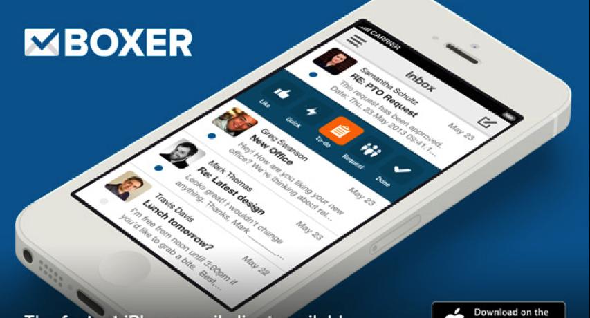 Boxer Mail App