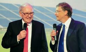 Warren Buffet with Bill Gates
