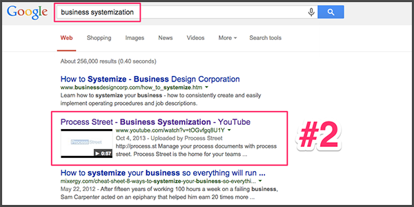 how to make my business show up on google search