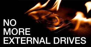 no more external drives