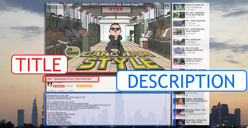 YouTube Onpage Optimization