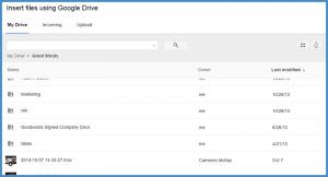 Google Drive and Gmail Integration