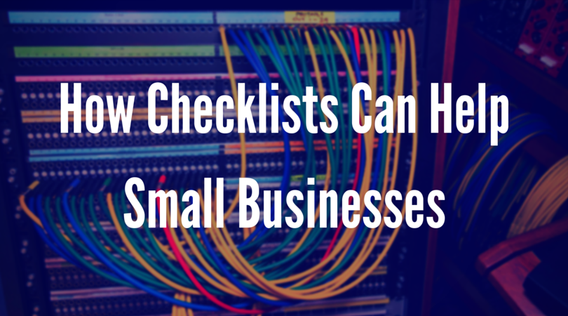 Checklists Small Businesses Header