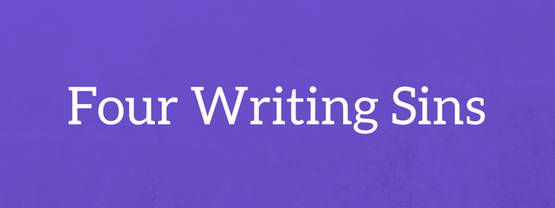 Business writing tips Four writing sins