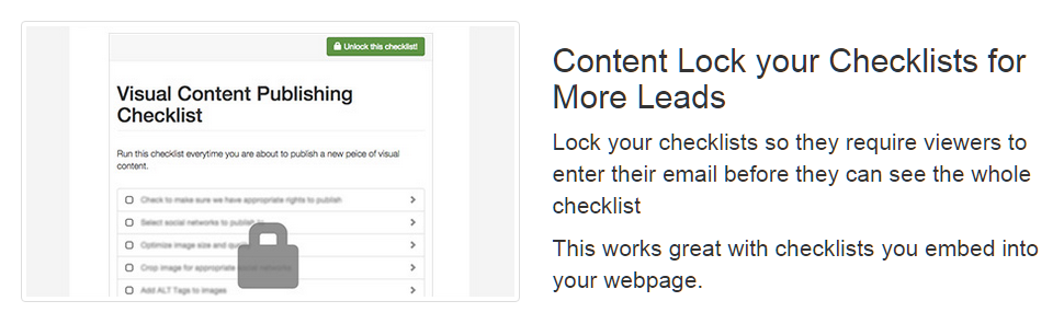 Content-Locked-Checklist