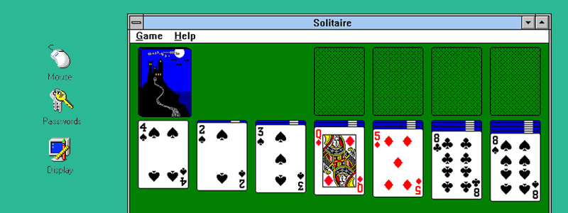 Solitaire user onboarding process