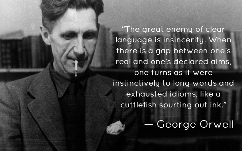 George Orwell Writing Mistakes to Avoid