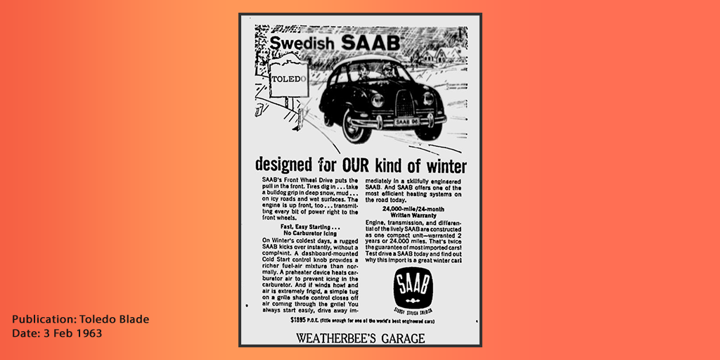 Swedish Saab Designed Border
