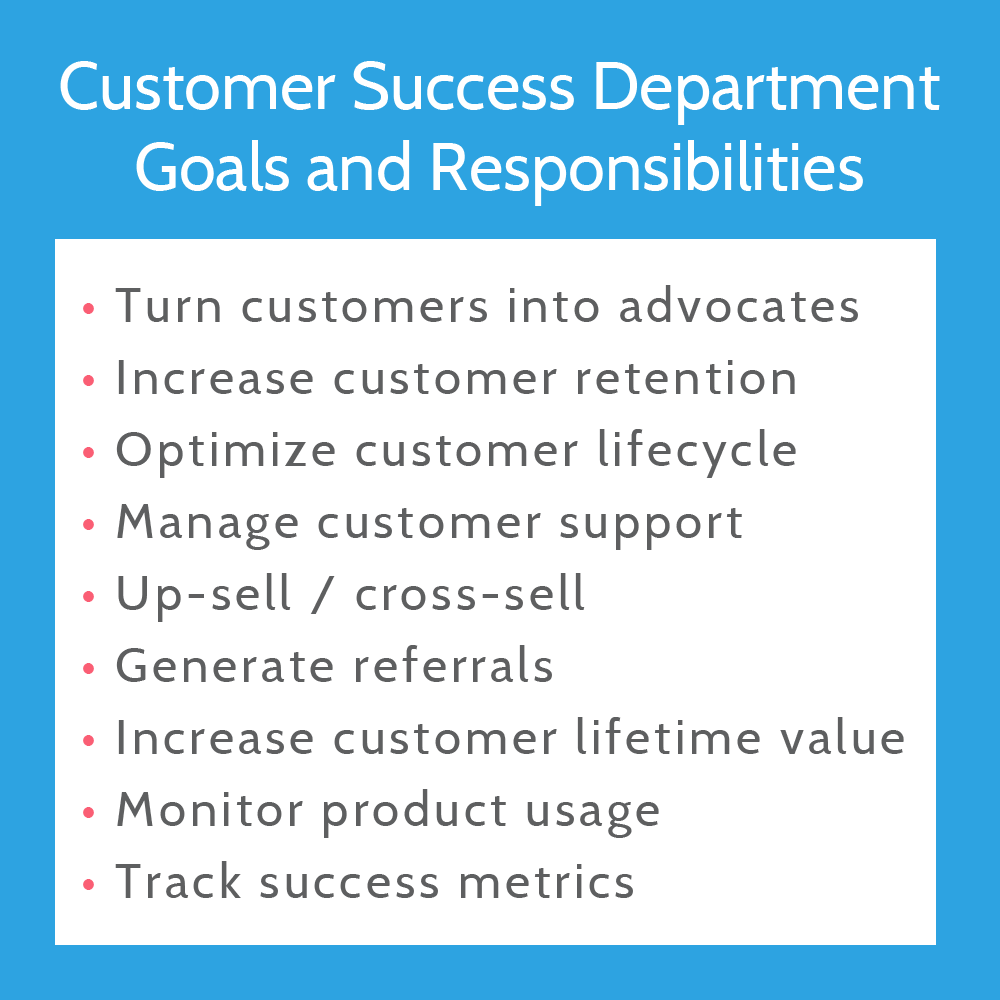 Customer Success Goals