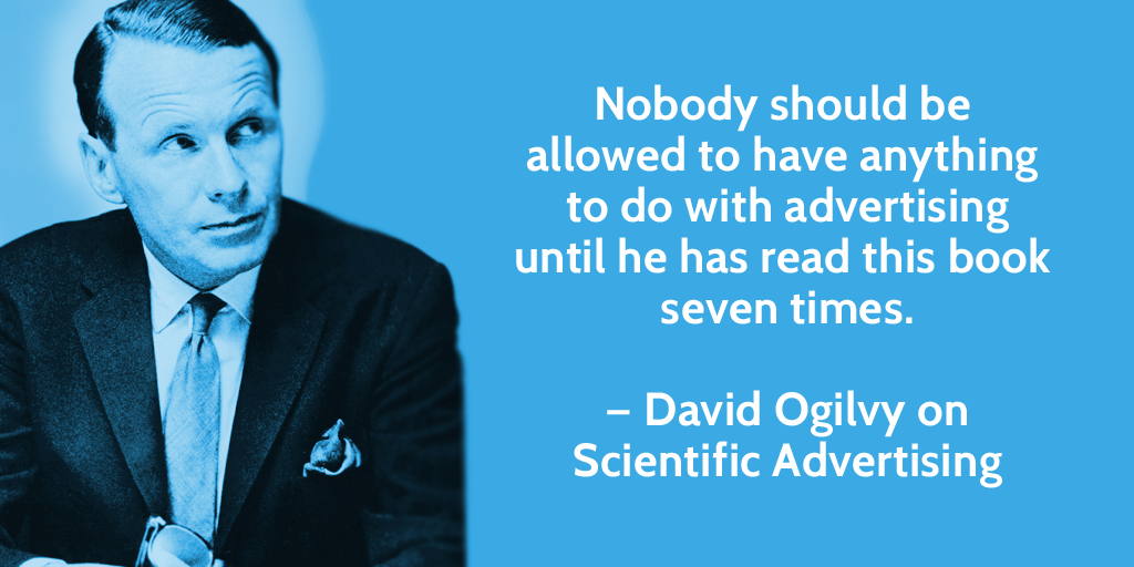 David Ogilvy Copywriting Quote