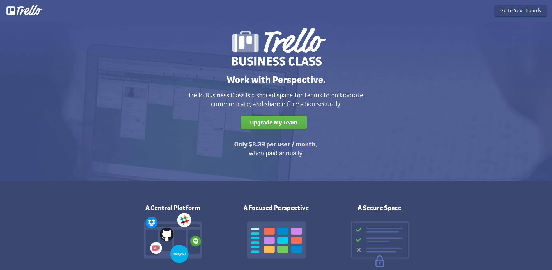 Trello Business Class
