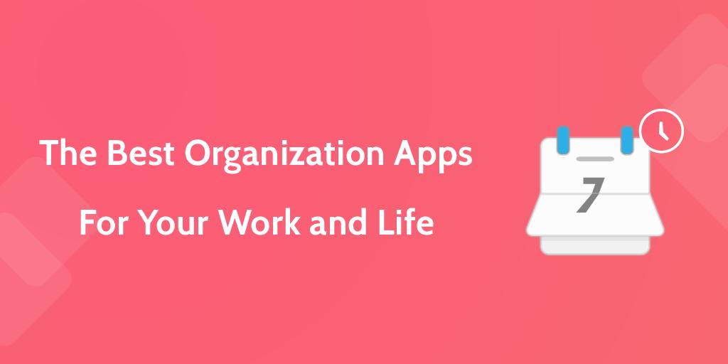 best organization apps