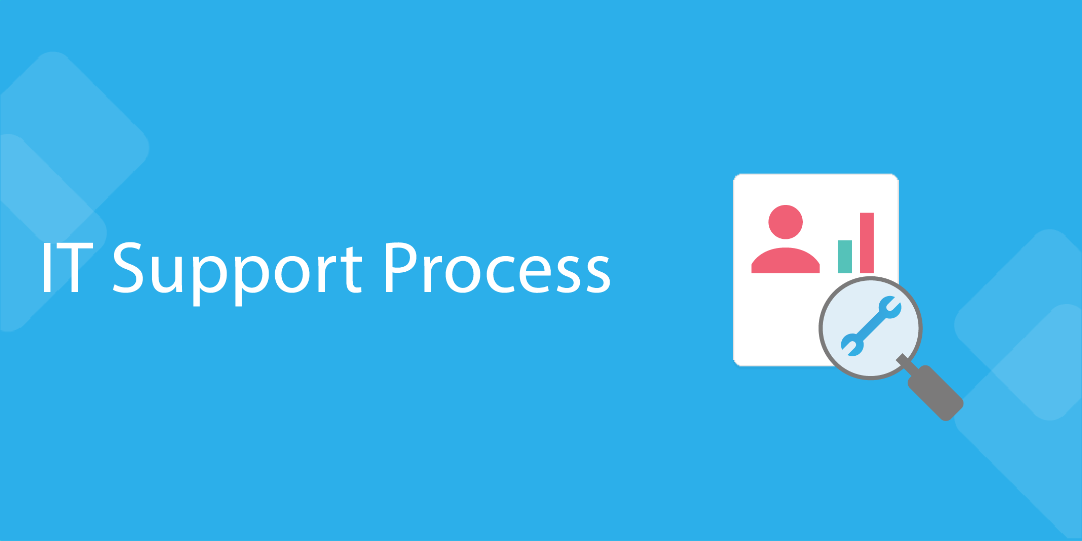 it processes IT Support Process