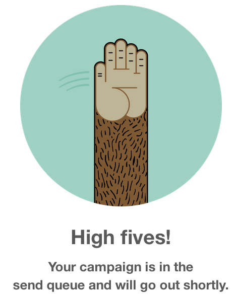 high-fives