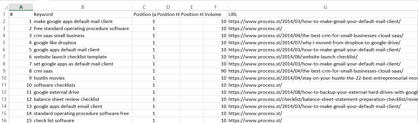 positions explorer output