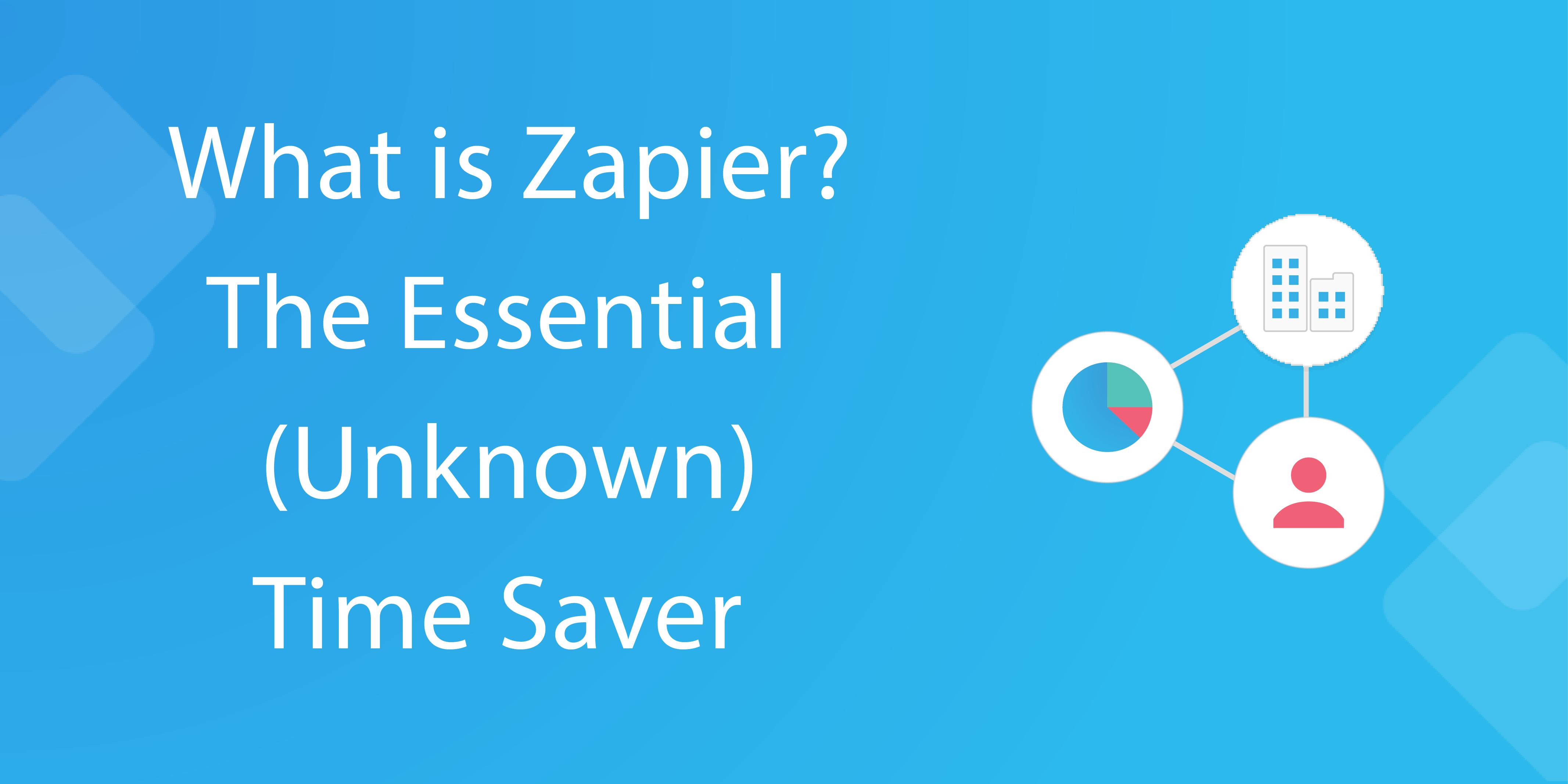 what is zapier - header