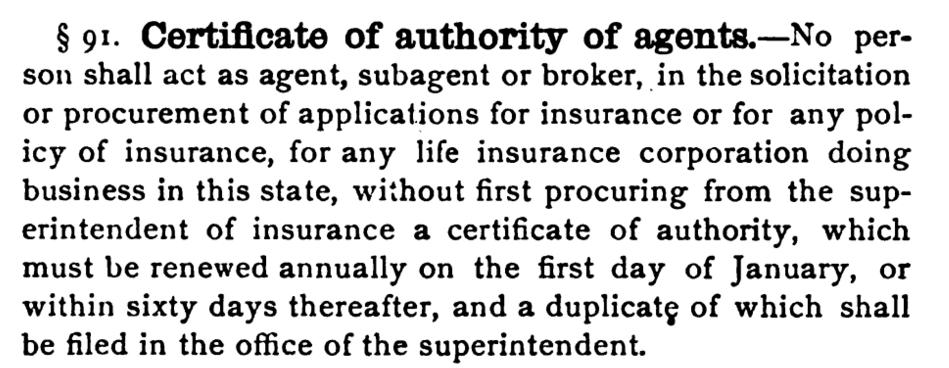 Authority of Agents