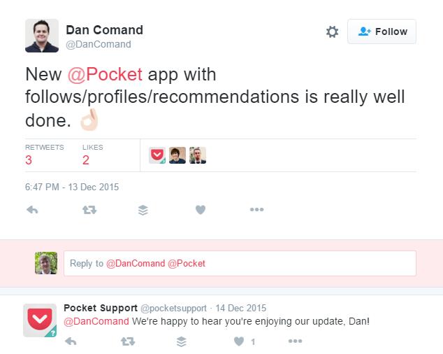 Pocket Tweet
