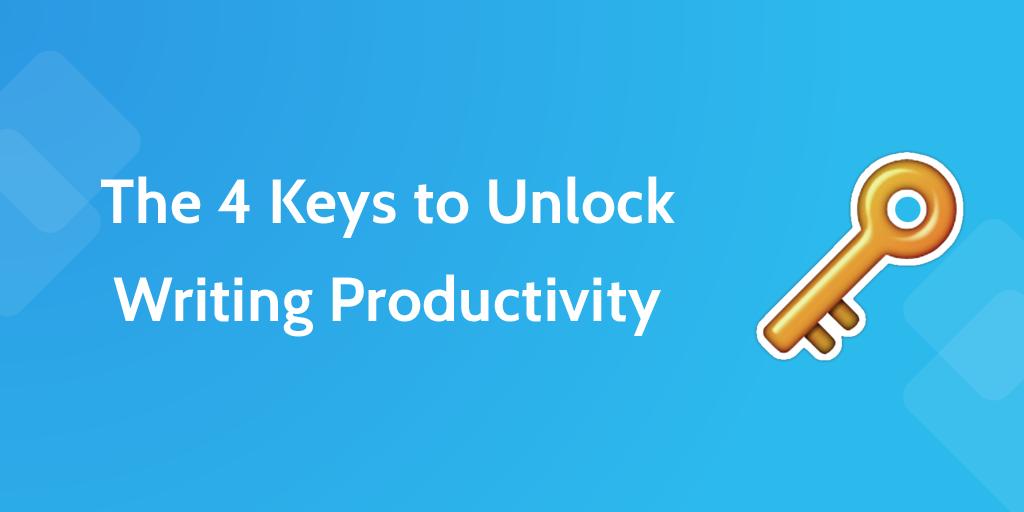Writing Productivity