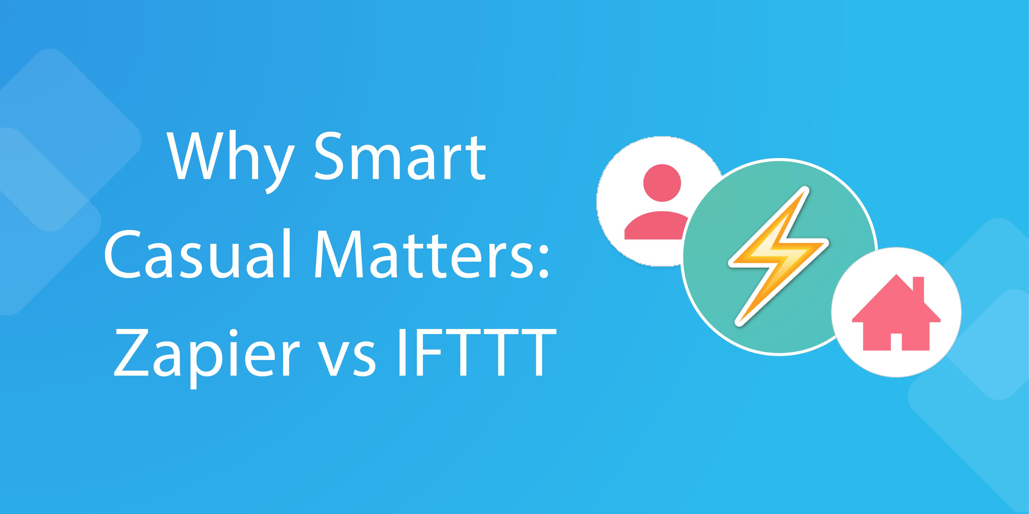 zapier vs ifttt - header