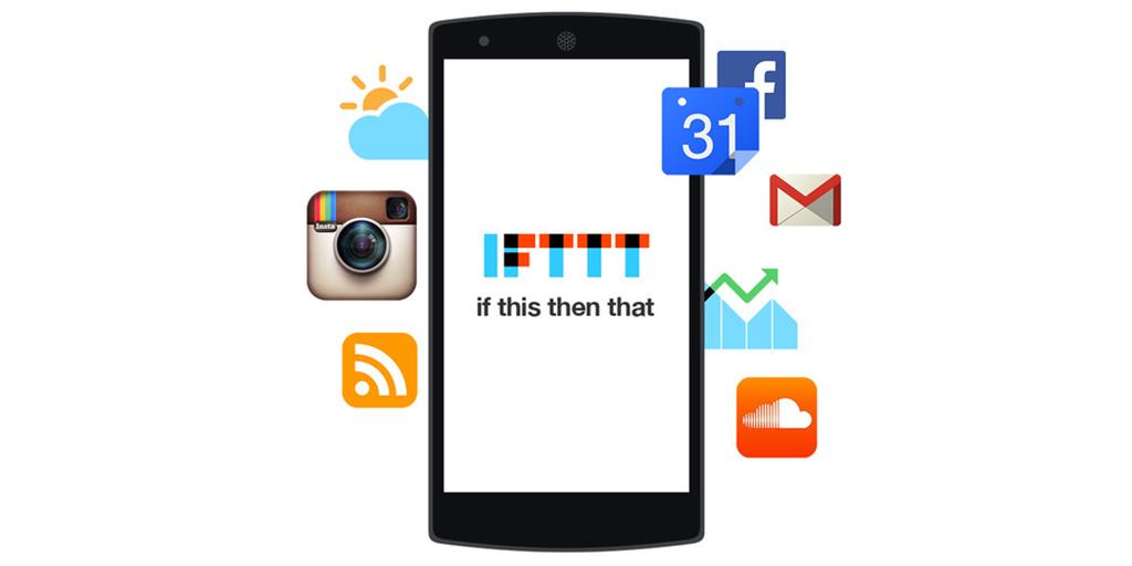 zapier vs ifttt - ifttt mobile app