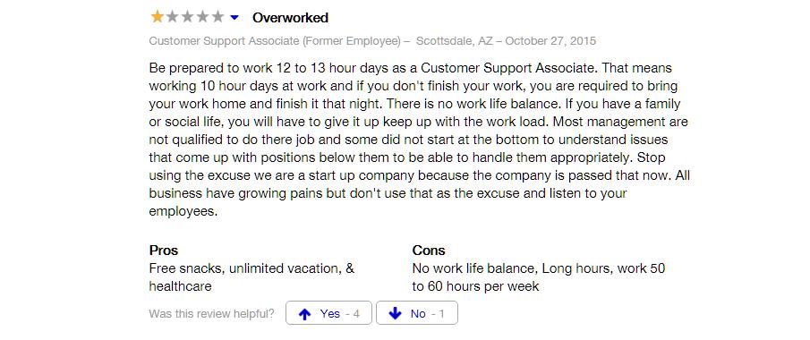 zenefits employee quote