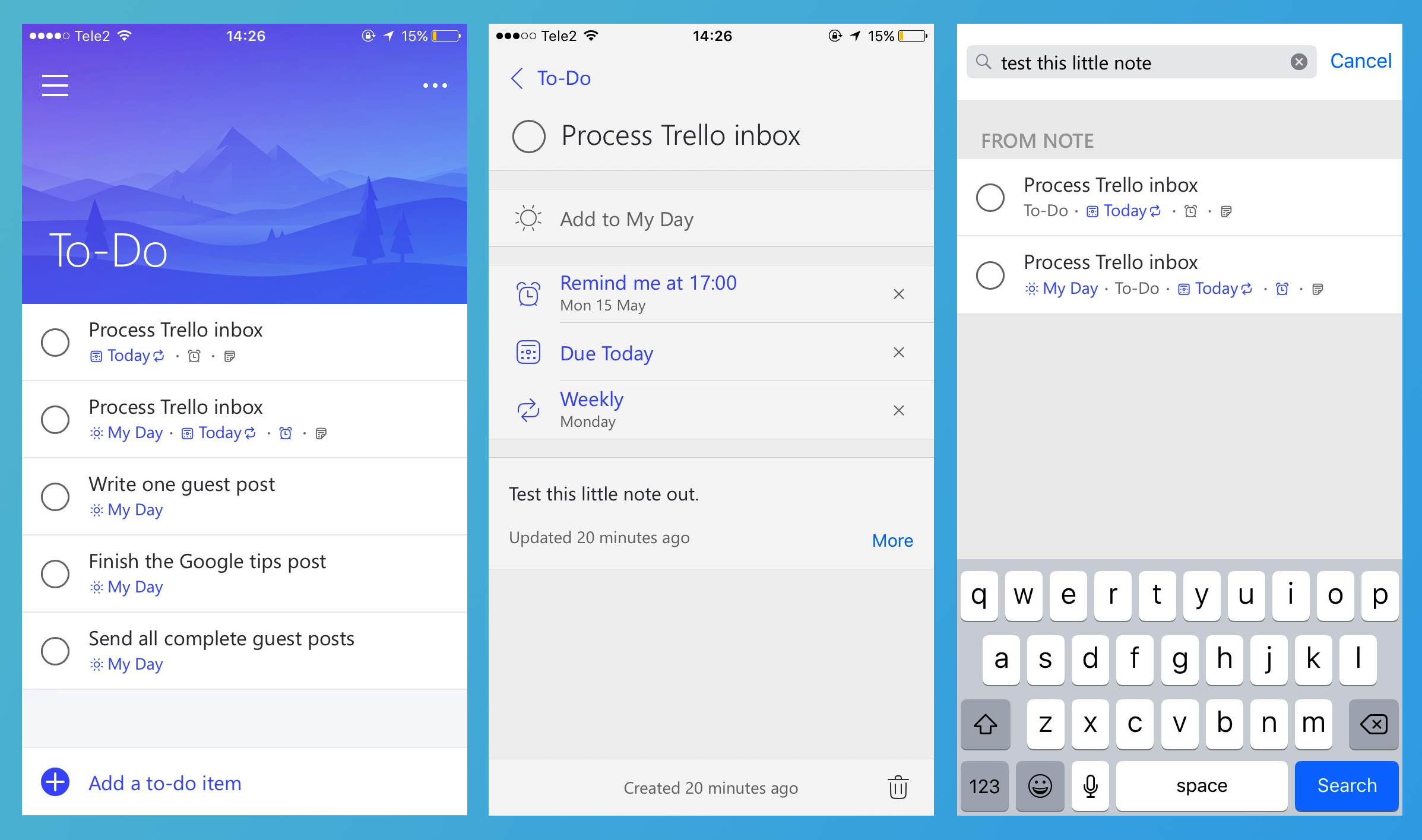 The Best To-Do List App? Todoist vs Wunderlist vs To-Do vs Any Do