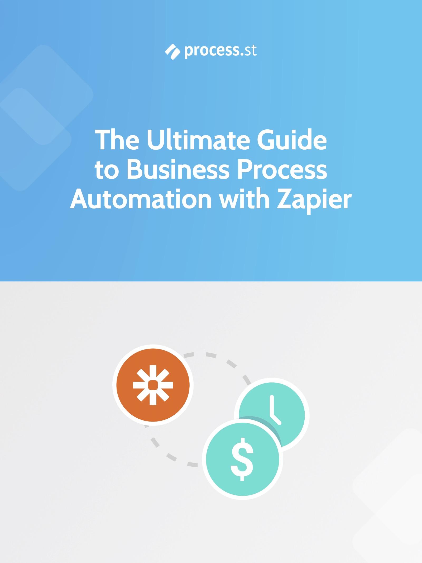 business process automation zapier - cover