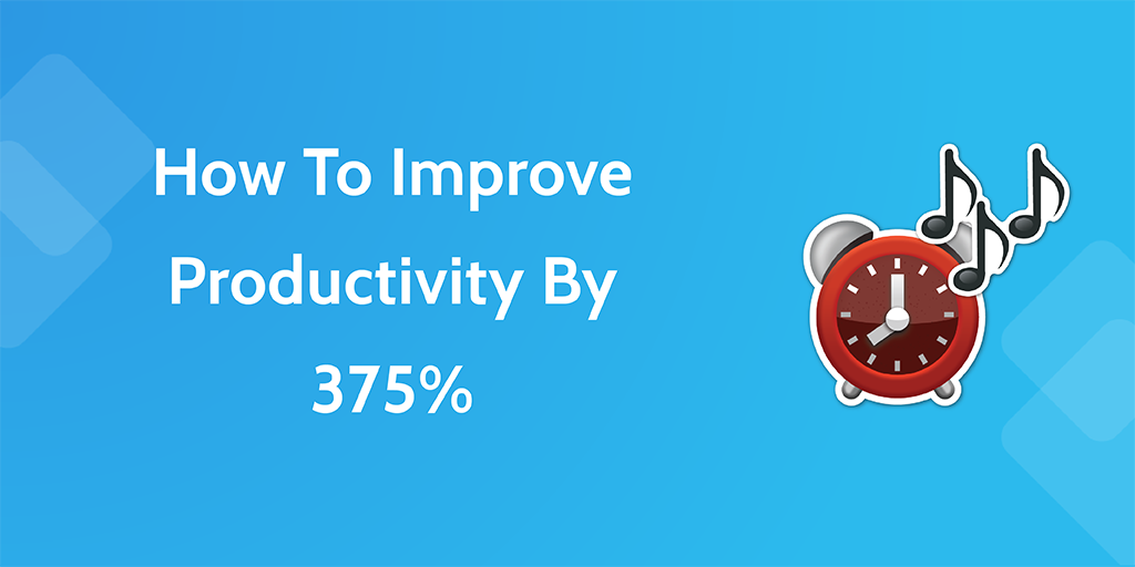 how to improve productivity - header