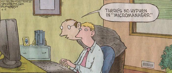 micromanage