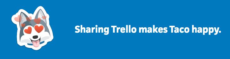 sharing trello