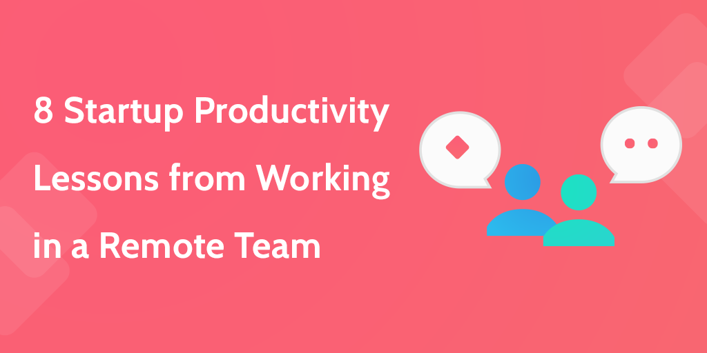 startup productivity