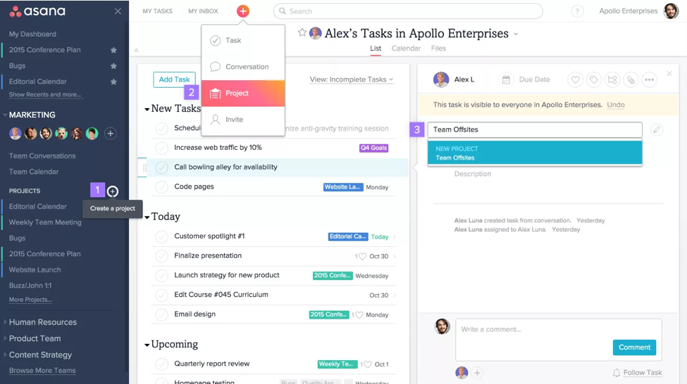 Trello vs asana the best project management app for Asana task template