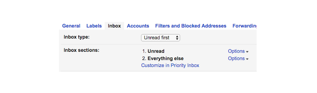 gmail tip #8: unread emails