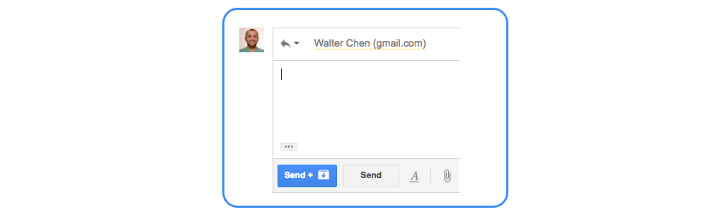 gmail tip #10: send and archive