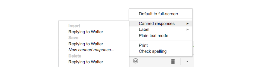 gmail tip #12: canned responses