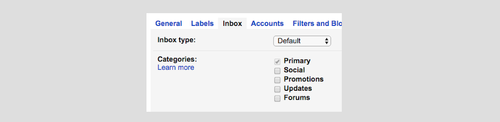 gmail tip #15: multiple inboxes