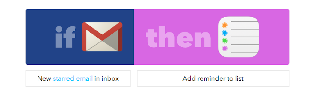 gmail tip #19: IFTTT to email