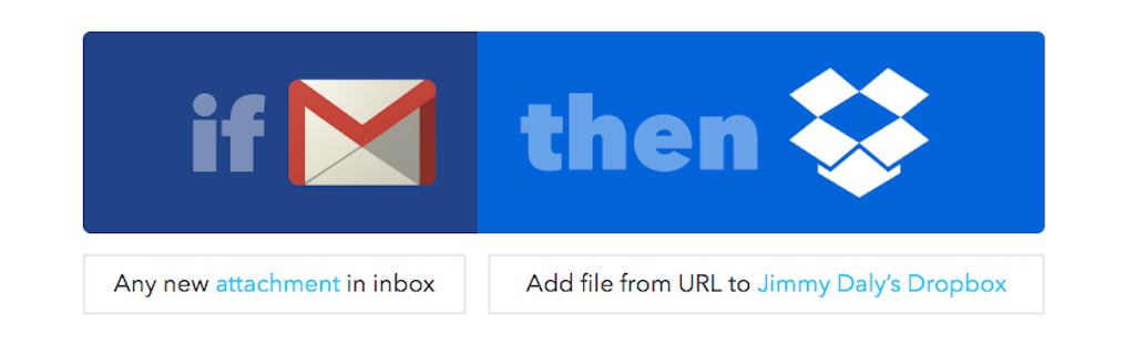 gmail tip #19: IFTTT to dropbox