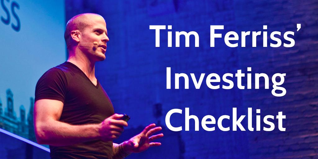 Tim Ferriss Investing
