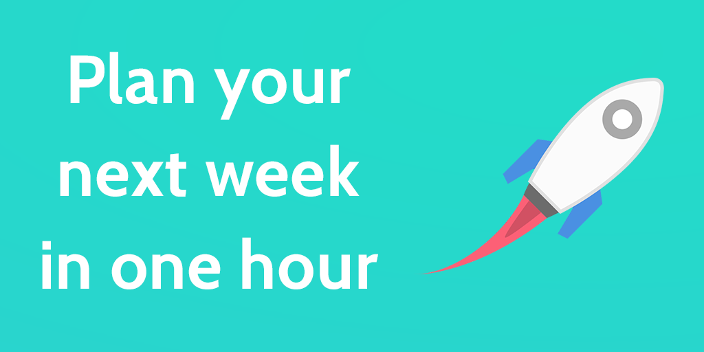 Weekly Review Checklist An Insanely Productive Week in 14 Steps – Weekly Checklist