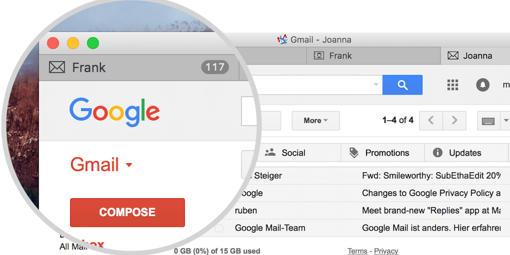 gmail tip #3: tour gmail calendar contacts
