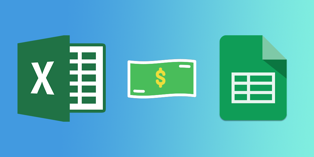 Excel vs Google Sheets Pricing