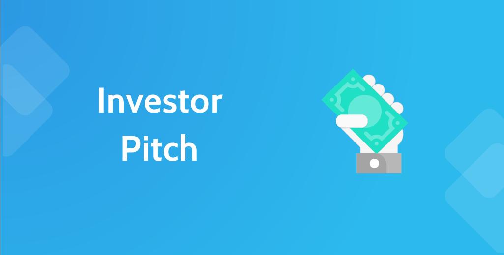 Investor pitch - header